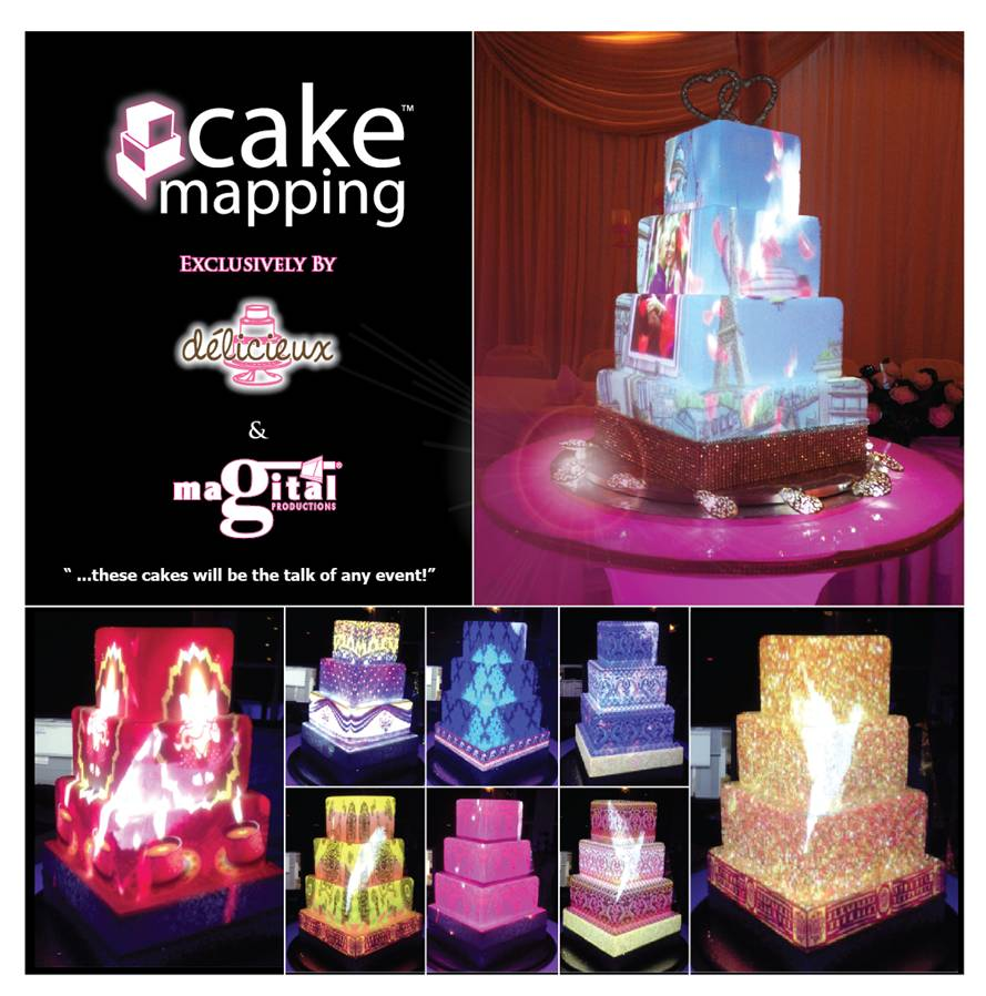 Cake Mapping exclusively by Deliciuex Cakes and Magital